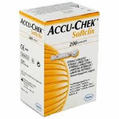 Accu-Chek Softclix 200 stuks