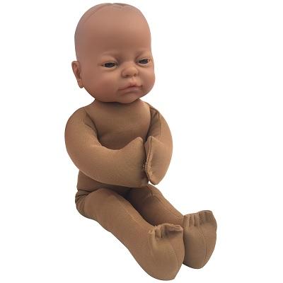 Childbirth Graphics Foetus lichtbruin